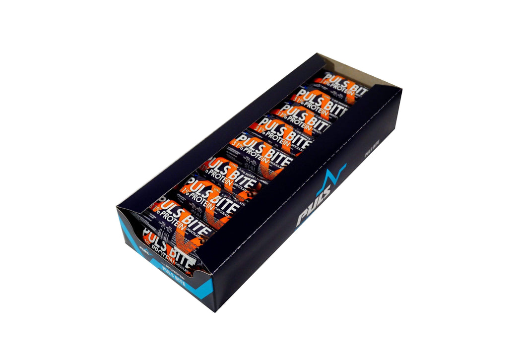 Puls Nutrition Protein Bar Chocolate PULS BITE Protein Bar (24 x 35 g)