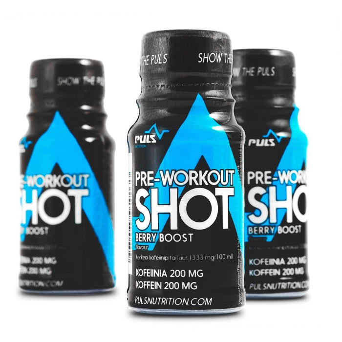 Puls Nutrition PULS Preworkout Shot (60 ml)