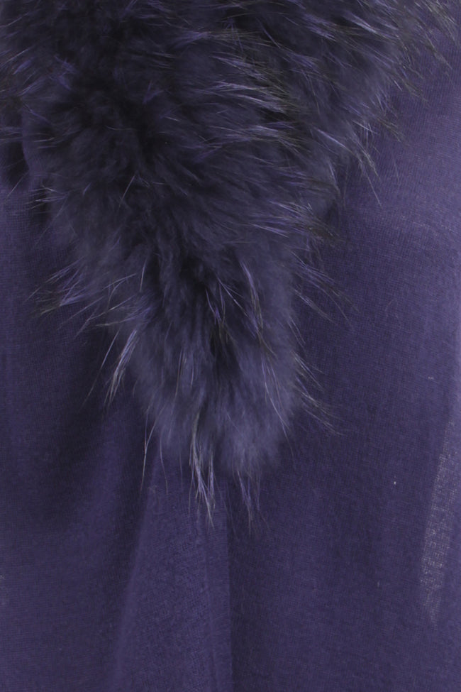 Real Raccoon Fur Cardigan