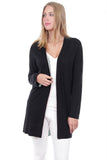 Two Toned Cardigan Black
