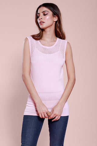 Engineered Knitted Long Sleeve