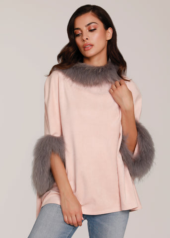 Faux Rex Rabbit Fur Jacket