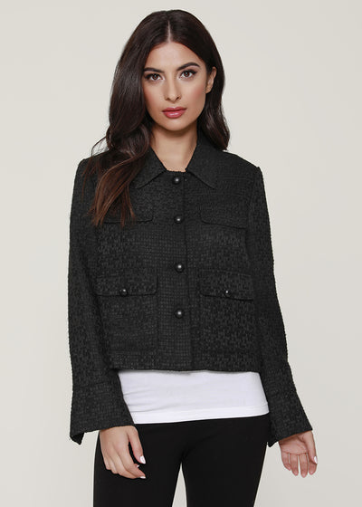 Tweed Cropped Jacket