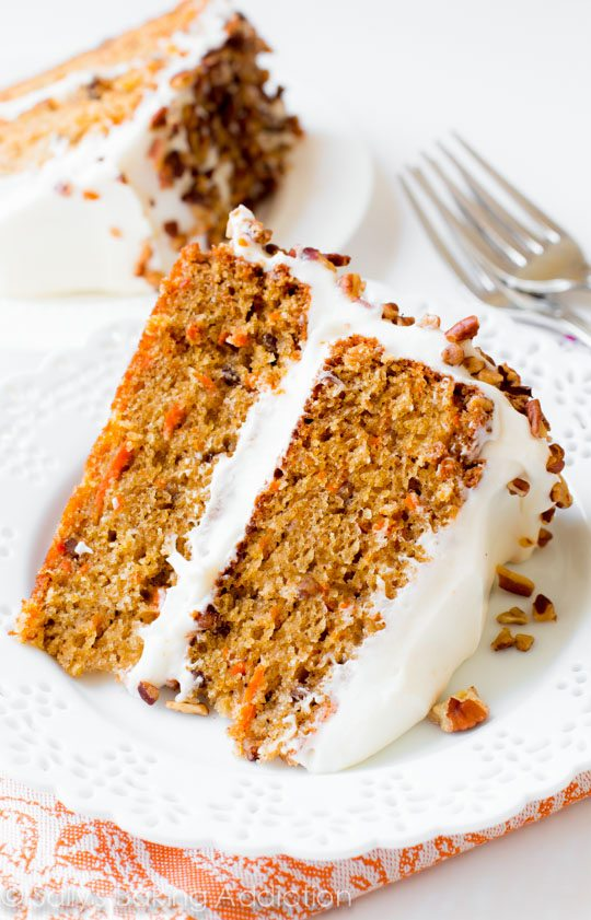 Candied Carrot Cake - Levitea