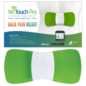WiTouch Pro TENS Unit for Back Pain Relief