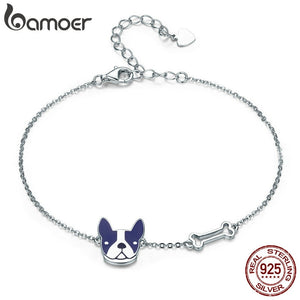 French Bulldog Bracelet for Women