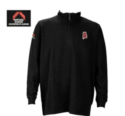 Men's 1/4 Zip Pullover Black