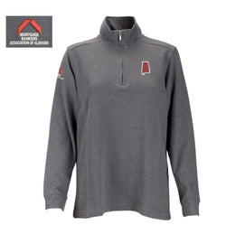 Women's 1/4 Zip Pullover Grey