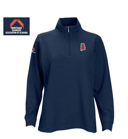 Women's 1/4 Zip Pullover Navy