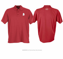 Men's Performance Polo Crimson