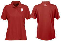 Women's Performance Polo Crimson