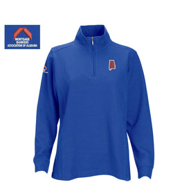 Women's 1/4 Zip Pullover Royal