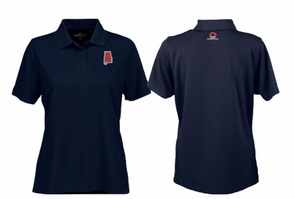 Women's Performance Polo Navy