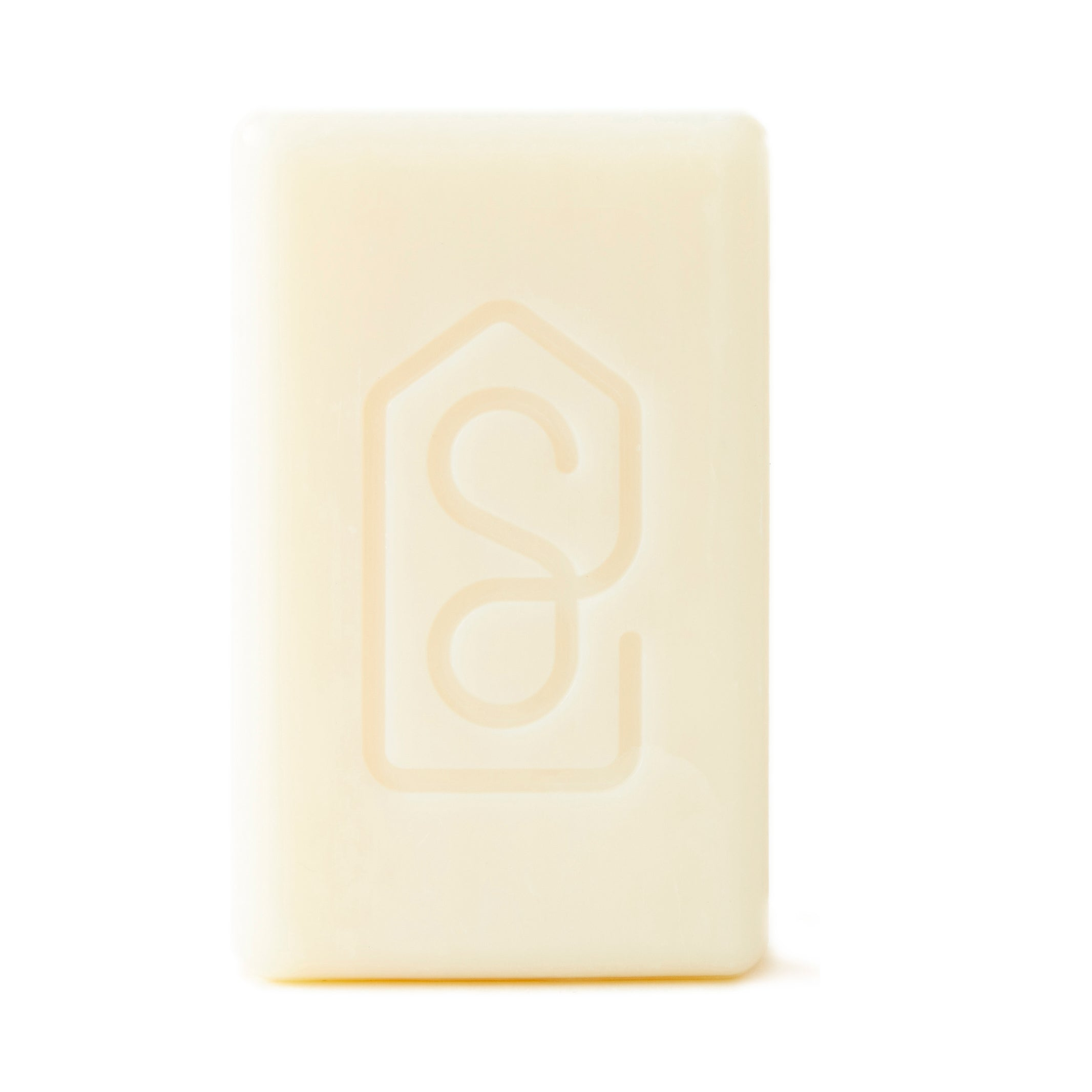 Nonsense Bar of Soap light cream bar without wrapper