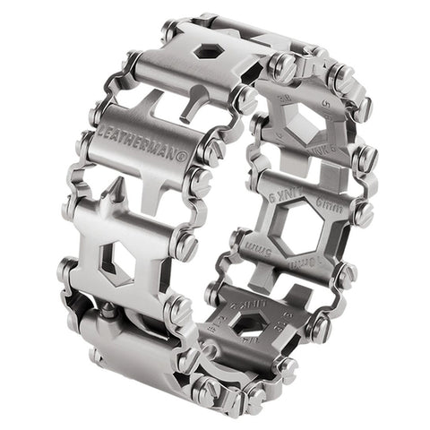 Leatherman Stainless-Steel Tread Bracelet Multitool