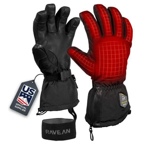 Ravean Heated Ski Gloves - 12v