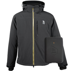 Men's Rugged Heated Jacket + Battery Bundle
