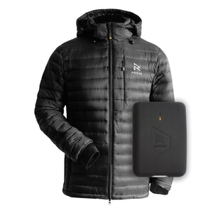 2021 Men's Down X Heated Jacket + Battery Bundle