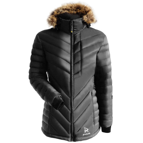 Women's Down X Heated Jacket (No Battery) - Kickstarter