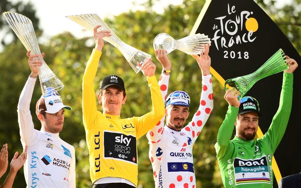 Tour de France leaders jerseys explained