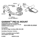 K-Edge Garmin Pro XL Mount