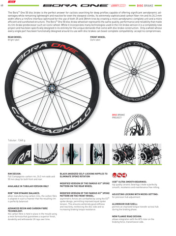 Campagnolo Bora One 50 DB Wheelset
