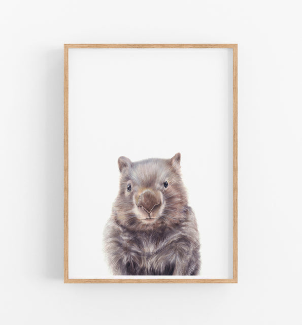 nursery prints, animal wall art
