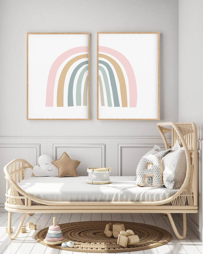 Rainbow Art Print - the wild woods