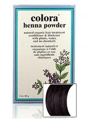 Natural Henna Hair Coloring Powder - Natural Henna Hair Coloring Powder - Black Powder