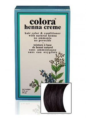 Natural Henna Hair Coloring Cream - Natural Henna Hair Coloring Cream - Black Cream