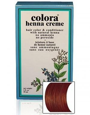 Natural Henna Hair Coloring Cream - Natural Henna Hair Coloring Cream - Brown Cream
