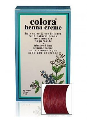 Natural Henna Hair Coloring Cream - Natural Henna Hair Coloring Cream - Burgundy Cream