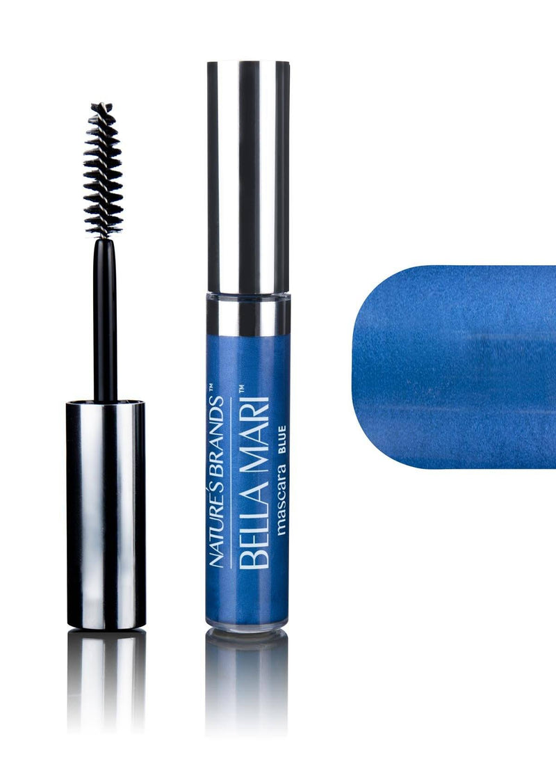 Bella Mari Natural Mascara; 0.4oz - Bella Mari Natural Mascara; 0.4oz - Blue
