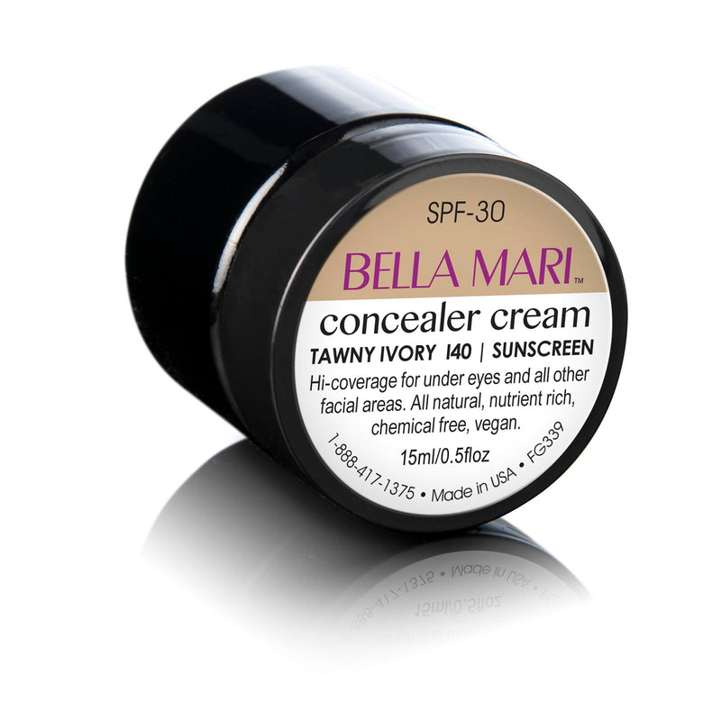Bella Mari Natural Concealer Cream - Bella Mari Natural Concealer Cream - Bella Mari Natural Concealer Cream