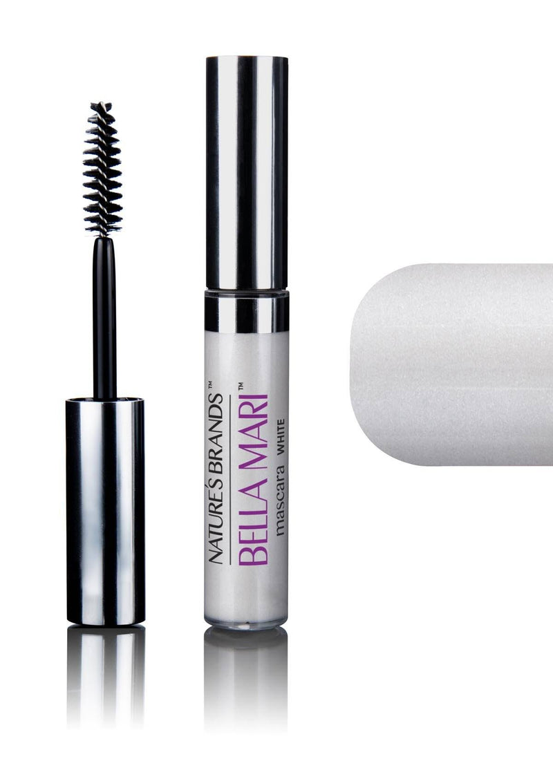 Bella Mari Natural Mascara; 0.4oz - Bella Mari Natural Mascara; 0.4oz - White