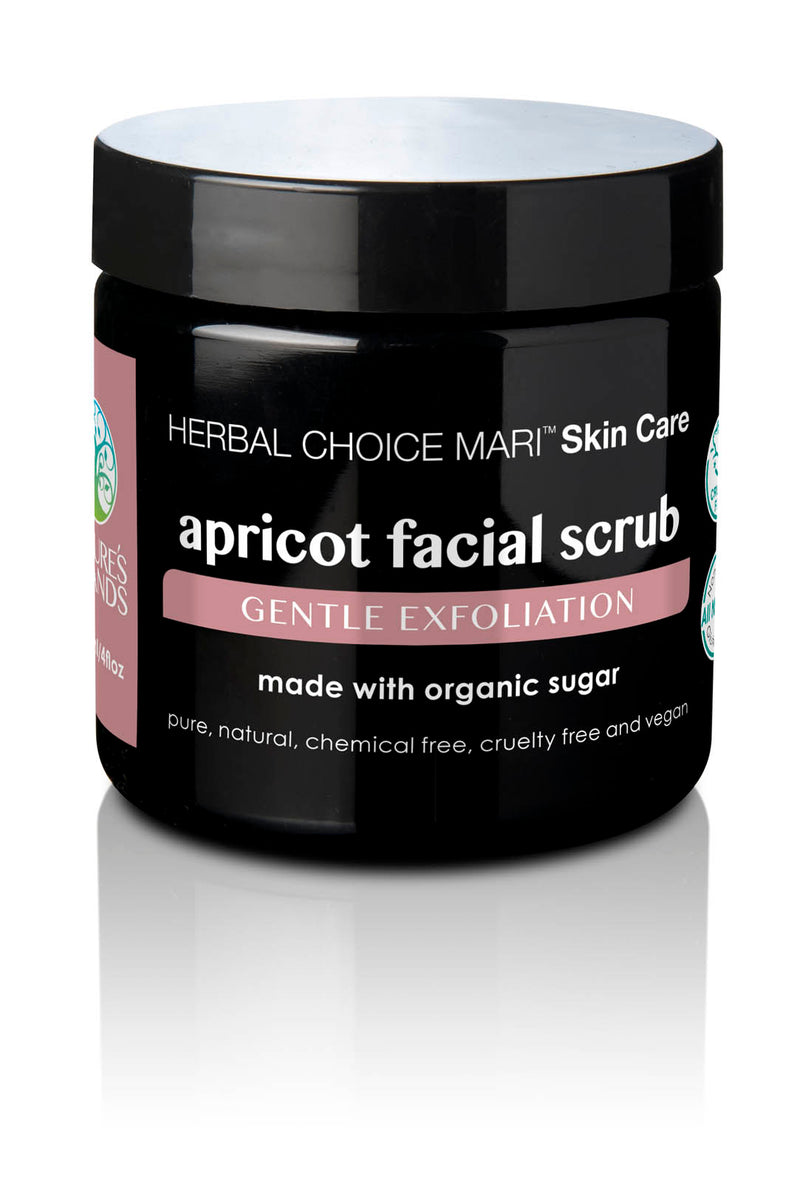 Herbal Choice Mari Apricot Facial Scrub, Gentle Exfoliation; Made with Organic - Herbal Choice Mari Apricot Facial Scrub, Gentle Exfoliation; Made with Organic - Herbal Choice Mari Apricot Facial Scrub, Gentle Exfoliation; Made with Organic
