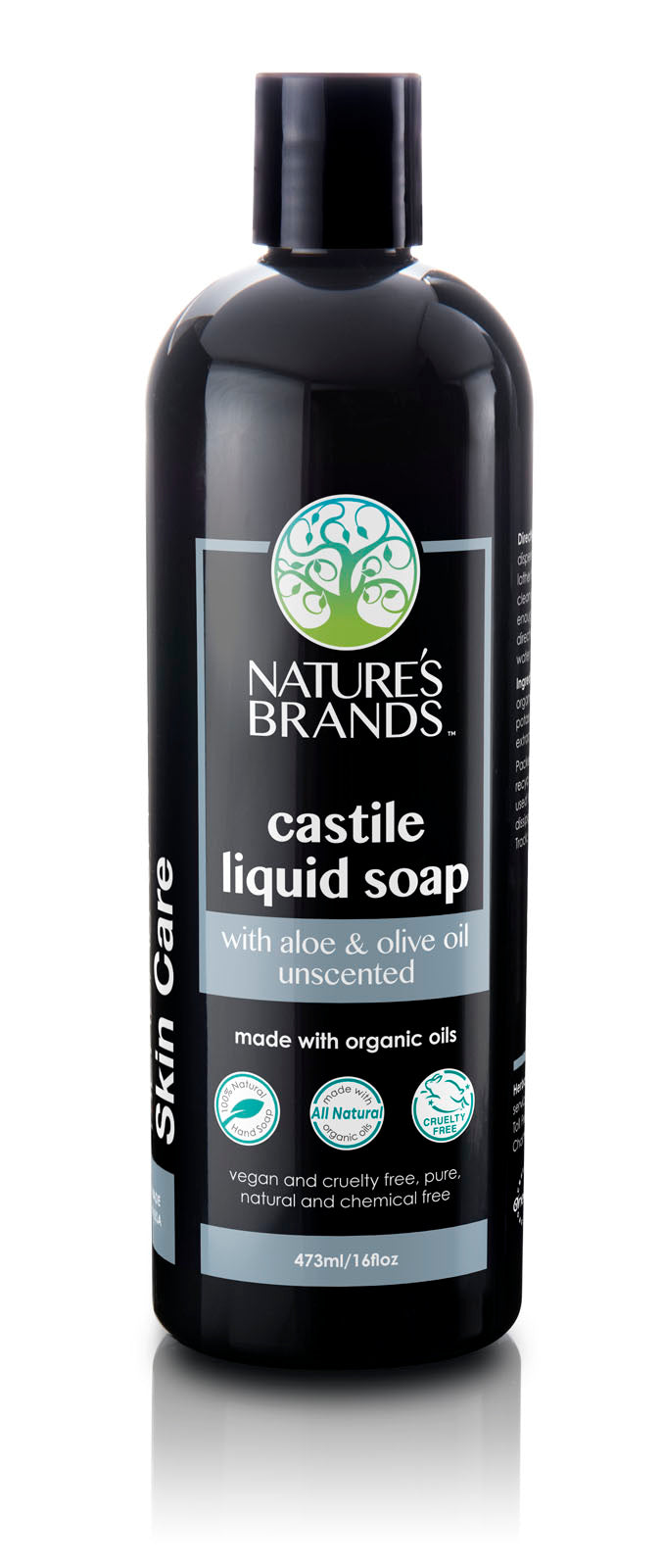 Herbal Choice Mari Natural Aloe Castile Liquid Soap, Unscented; Made with Organic - Herbal Choice Mari Natural Aloe Castile Liquid Soap, Unscented; Made with Organic - Herbal Choice Mari Natural Aloe Castile Liquid Soap, Unscented; Made with Organic