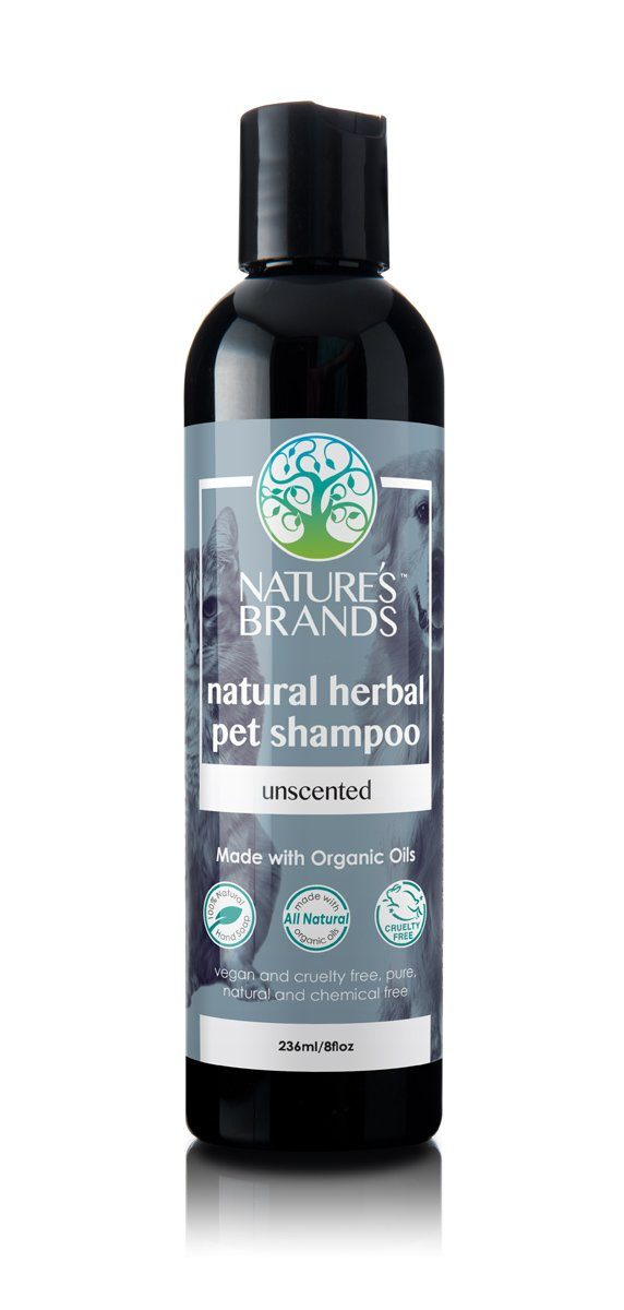 Herbal Choice Mari Natural Pet Shampoo, Unscented; Made with Organic - Herbal Choice Mari Natural Pet Shampoo, Unscented; Made with Organic - 8floz