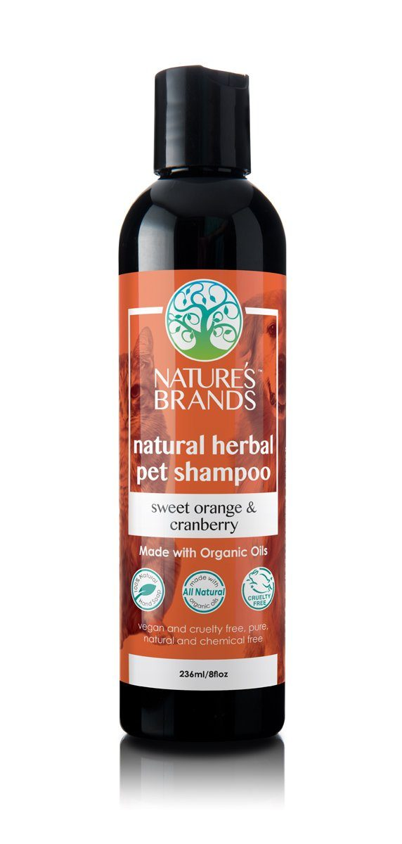 Herbal Choice Mari Natural Pet Shampoo, Sweet Orange And Cranberry; Made with Organic - Herbal Choice Mari Natural Pet Shampoo, Sweet Orange And Cranberry; Made with Organic - 8floz