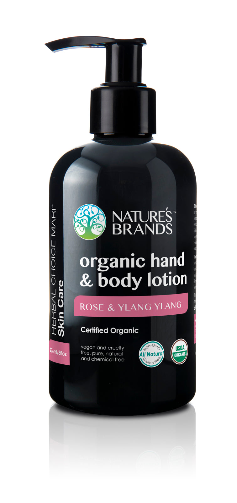 Herbal Choice Mari Organic Hand And Body Lotion, Rose And Ylang Ylang - Herbal Choice Mari Organic Hand And Body Lotion, Rose And Ylang Ylang - Herbal Choice Mari Organic Hand And Body Lotion, Rose And Ylang Ylang