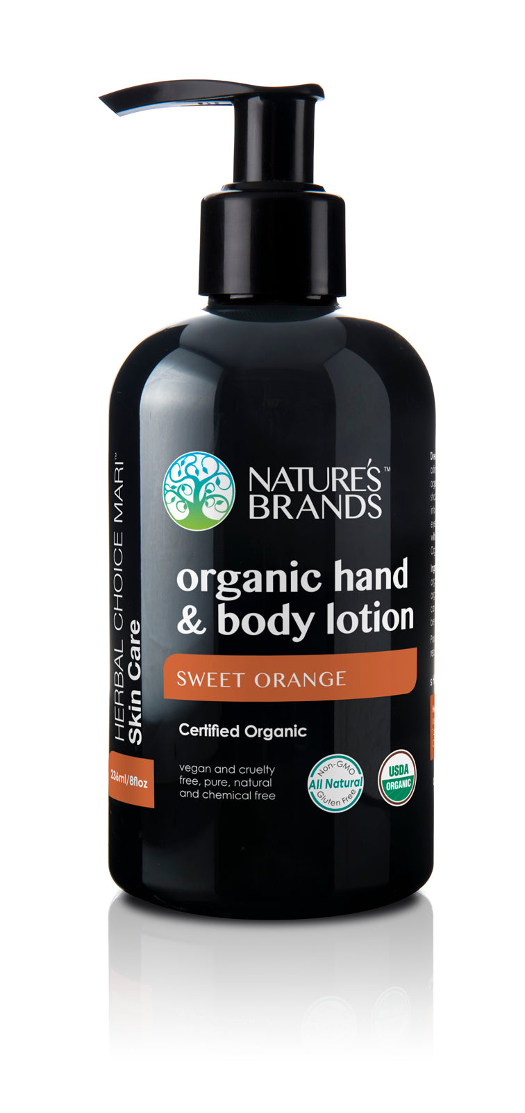 Herbal Choice Mari Organic Hand And Body Lotion, Sweet Orange - Herbal Choice Mari Organic Hand And Body Lotion, Sweet Orange - Herbal Choice Mari Organic Hand And Body Lotion, Sweet Orange