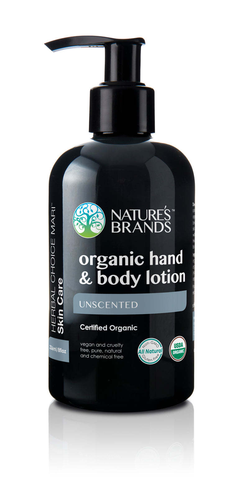 Herbal Choice Mari Organic Hand & Body Lotion, Unscented - Herbal Choice Mari Organic Hand & Body Lotion, Unscented - Herbal Choice Mari Organic Hand & Body Lotion, Unscented