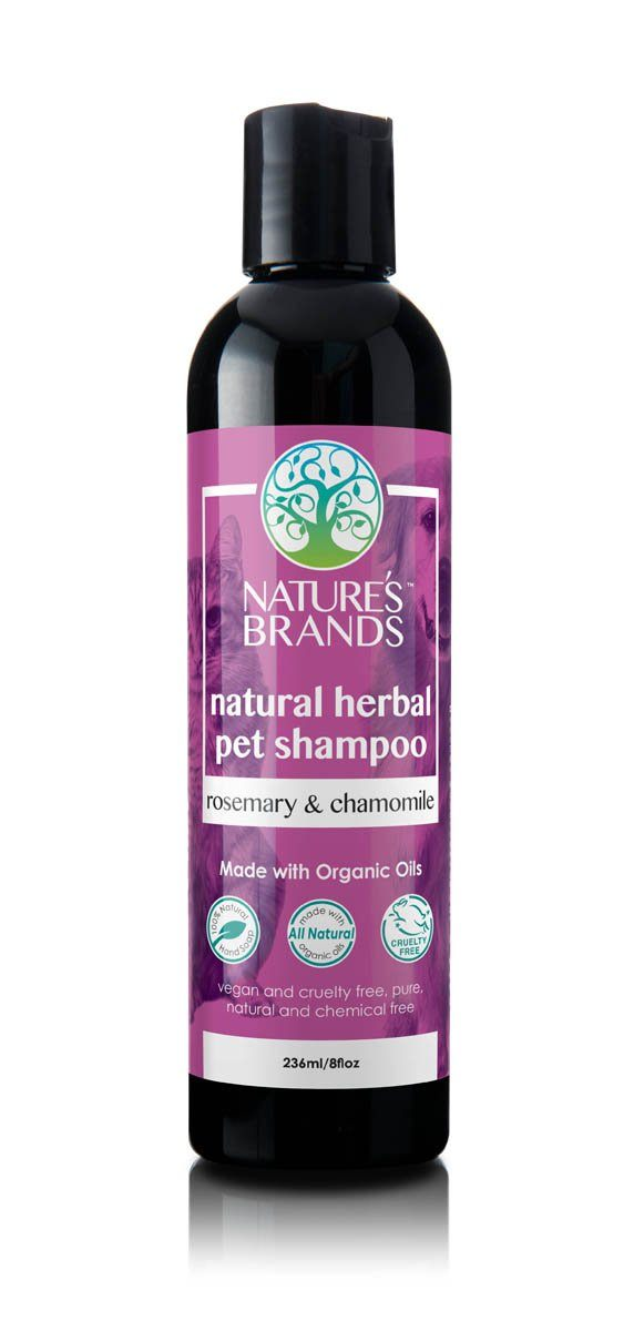 Herbal Choice Mari Natural Pet Shampoo, Rosemary & Chamomile; Made with Organic - Herbal Choice Mari Natural Pet Shampoo, Rosemary & Chamomile; Made with Organic - 8floz