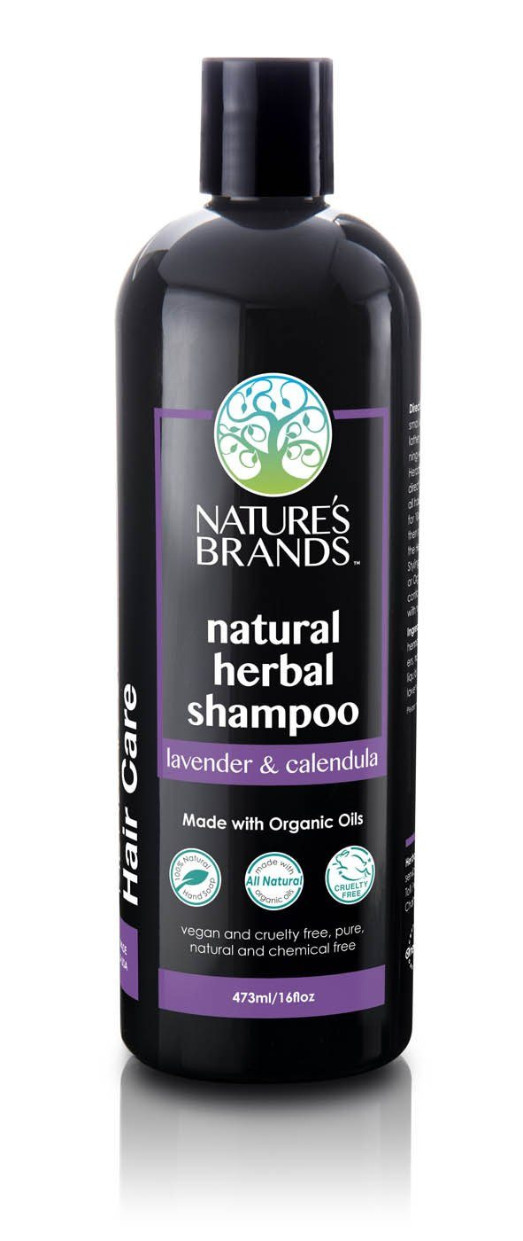 Herbal Choice Mari Natural Shampoo, Lavender And Calendula; Made with Organic - Herbal Choice Mari Natural Shampoo, Lavender And Calendula; Made with Organic - 16floz