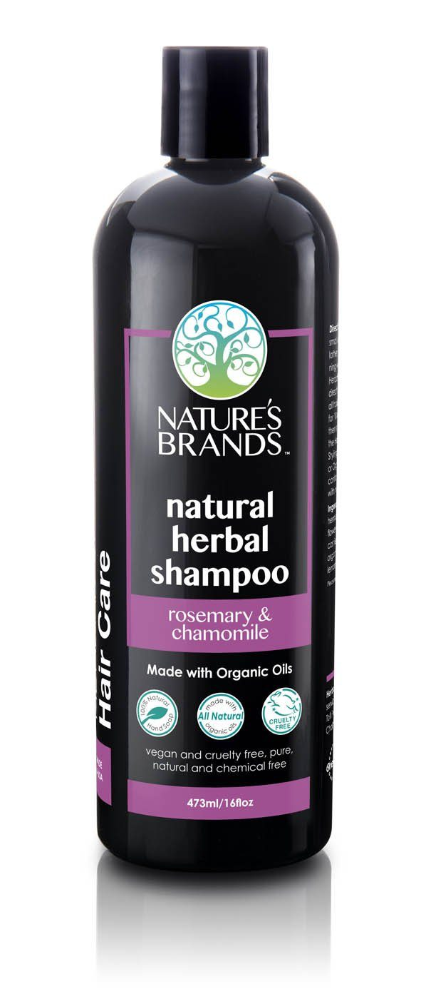 Herbal Choice Mari Natural Shampoo, Rosemary & Chamomile; Made with Organic - Herbal Choice Mari Natural Shampoo, Rosemary & Chamomile; Made with Organic - 16floz