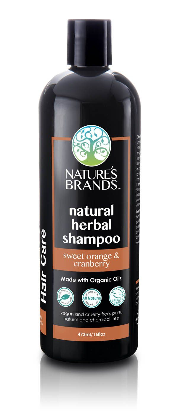Herbal Choice Mari Natural Shampoo, Sweet Orange & Cranberry; Made with Organic - Herbal Choice Mari Natural Shampoo, Sweet Orange & Cranberry; Made with Organic - 16floz