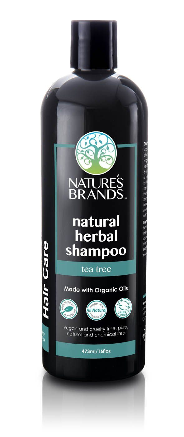 Herbal Choice Mari Natural Shampoo, Tea Tree; Made with Organic - Herbal Choice Mari Natural Shampoo, Tea Tree; Made with Organic - 16floz