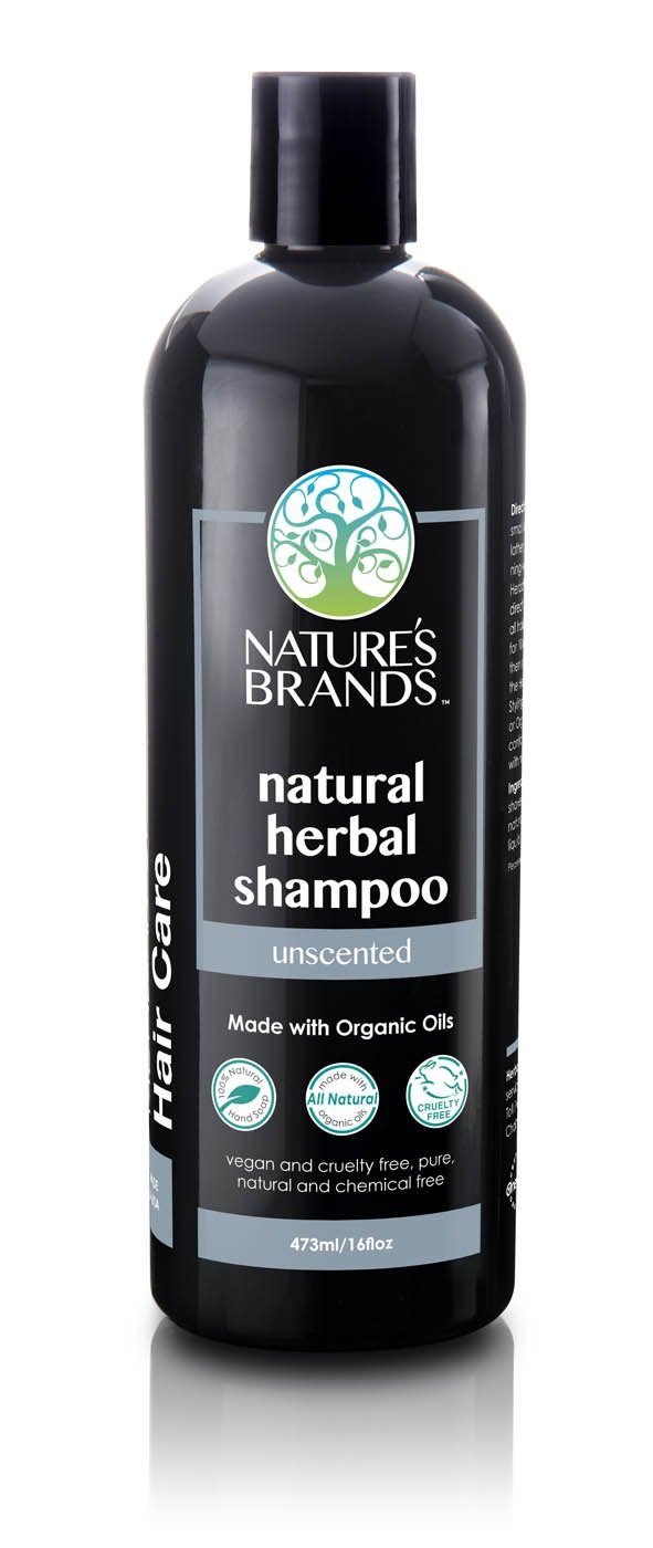 Herbal Choice Mari Natural Shampoo, Unscented; Made with Organic - Herbal Choice Mari Natural Shampoo, Unscented; Made with Organic - 16floz