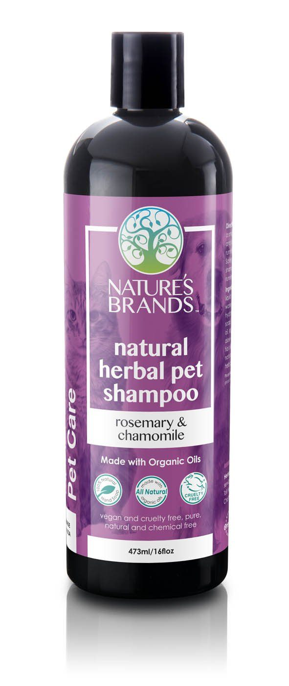 Herbal Choice Mari Natural Pet Shampoo, Rosemary And Chamomile; Made with Organic - Herbal Choice Mari Natural Pet Shampoo, Rosemary And Chamomile; Made with Organic - 16floz