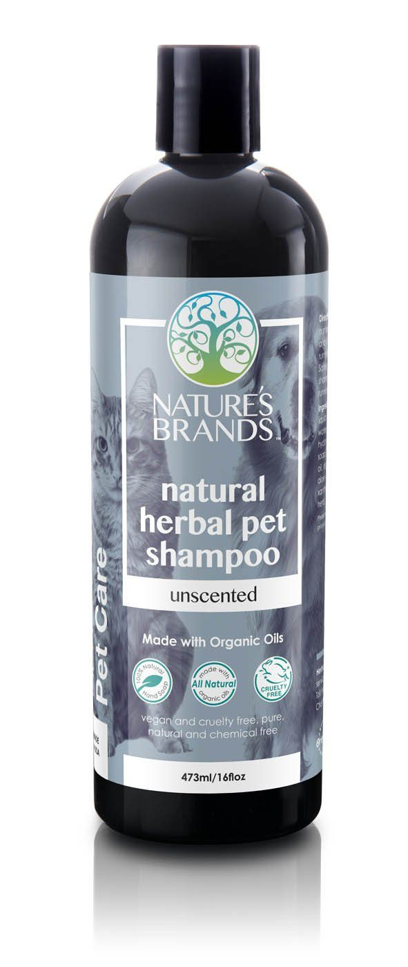 Herbal Choice Mari Natural Pet Shampoo, Unscented; Made with Organic - Herbal Choice Mari Natural Pet Shampoo, Unscented; Made with Organic - 16floz
